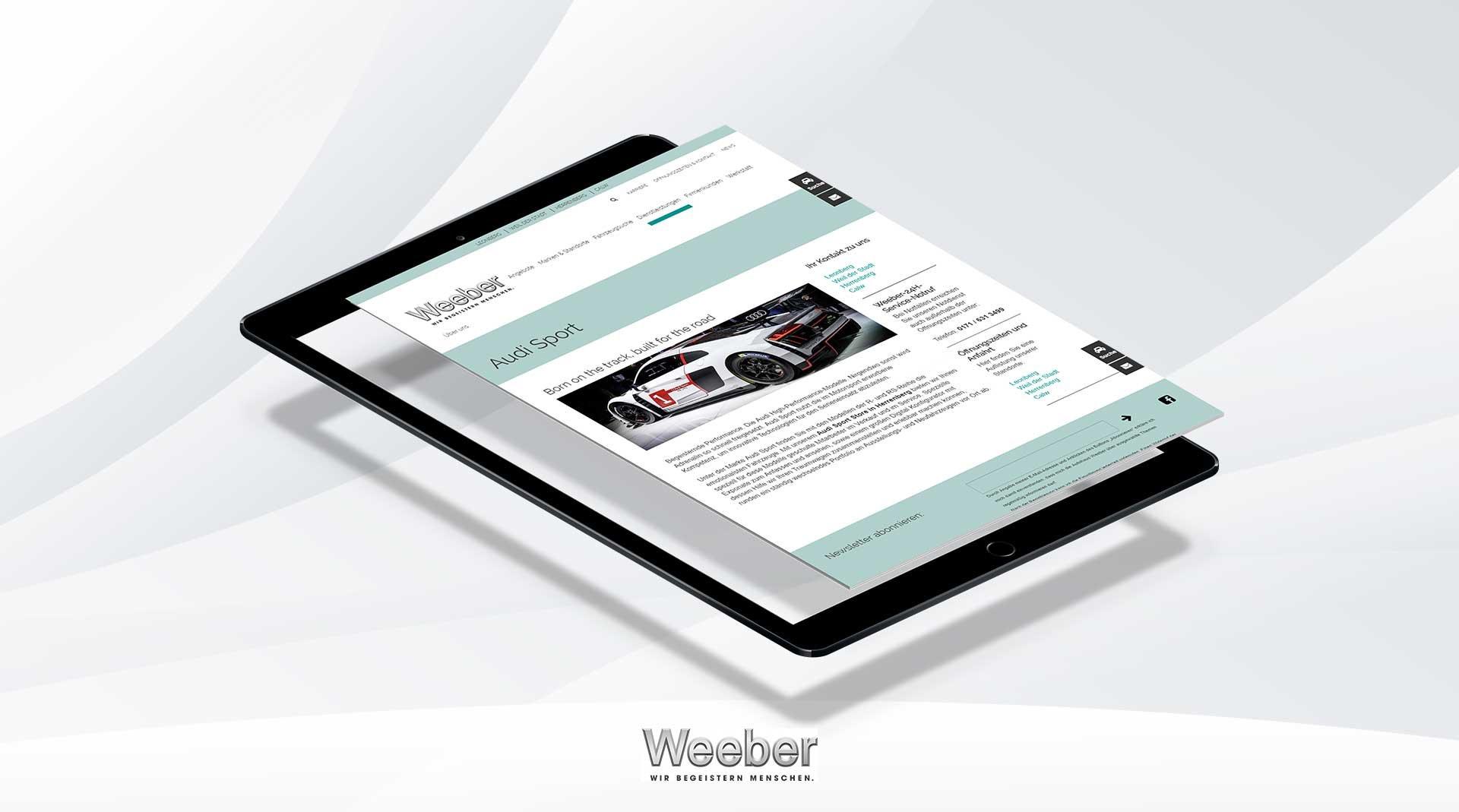 WEEBER-Relaunch-TYPO3