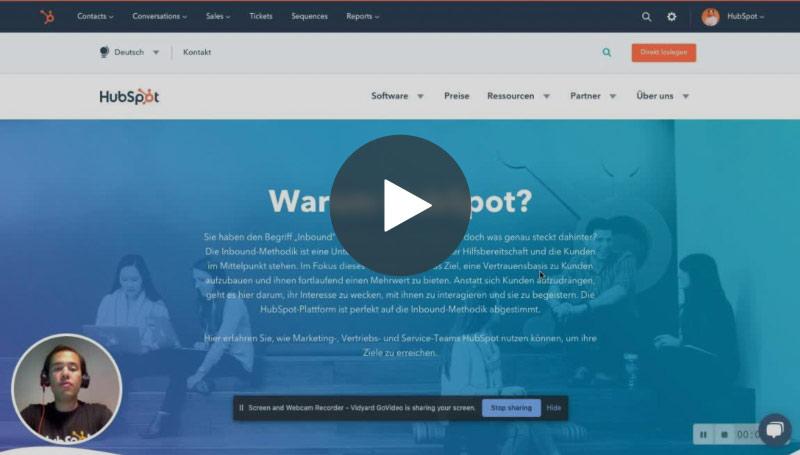 hubspot-video-einführung