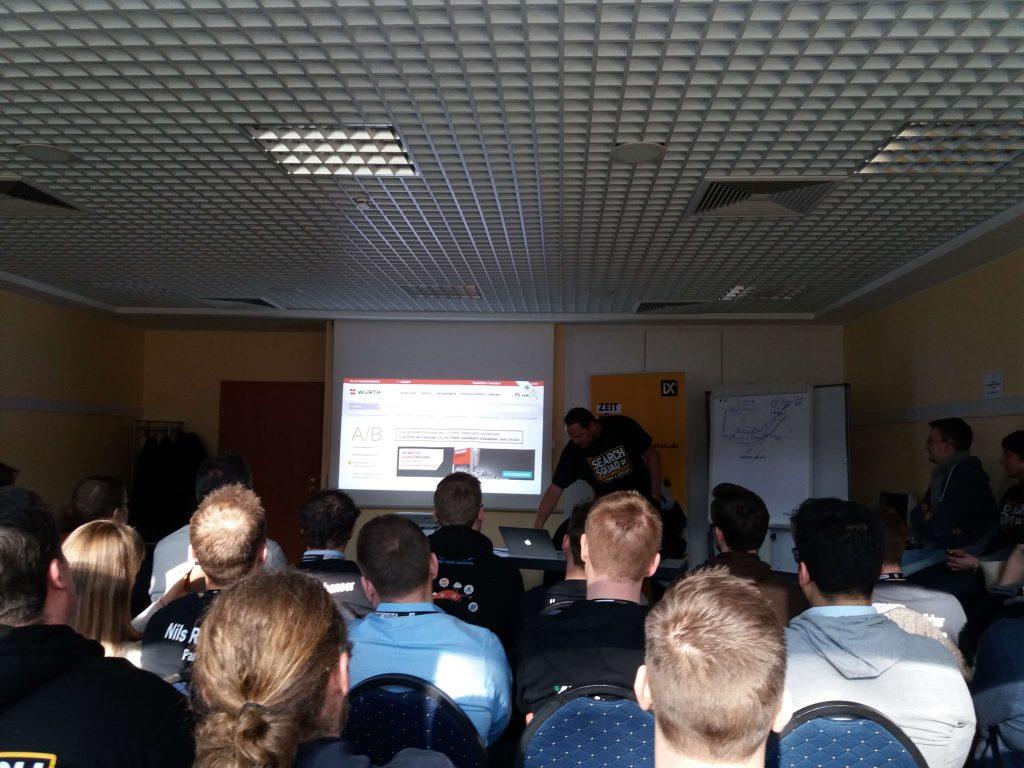 Seminar bei Karl Kratz.